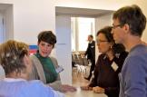 Gespräch zwischen Claudia Tauber - Verbund Ökohöfe, Christina Menne - Naturland e.V., Jakob Ganten Demeter e.V. und Heike Kruspe - Bioland Ost e.V.