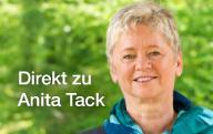 """Mit diesem Photo gelangen Sie zu der Internetseite """"Direkt zu Anita Tack"""""""